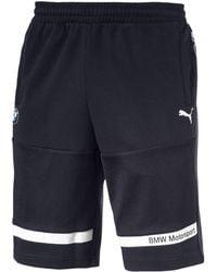 PUMA - Bmw Motorsport Men's Sweat Shorts - Lyst