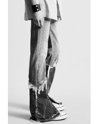 R13 | Vent Kick With Double Shredded Hems | Lyst