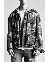R13 - Hooded Abu Jacket - Lyst