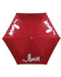 Radley - Love Is In The Air Telescopic Mini Umbrella - Lyst