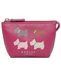 9949c8adae7e9 Radley - Quad Dog Small Zip Coin Purse - Lyst