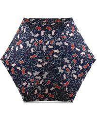 Radley - Speckle Dog Mini Telescopic Umbrella - Lyst