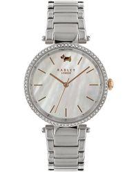 Radley - St Dunstan's Silver Watch - Lyst