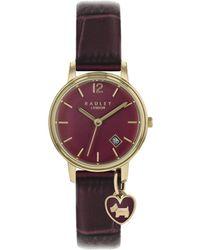 478e74e26 Radley Women's Wimbledon Mini Leather Strap Watch in Natural - Lyst