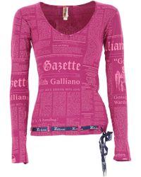 John Galliano - T-shirt For Women - Lyst