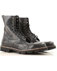 dff7038695b DIESEL D-pit Boot in Blue for Men - Lyst