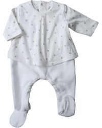Petit Bateau - Baby Bodysuits & Onesies For Girls On Sale - Lyst