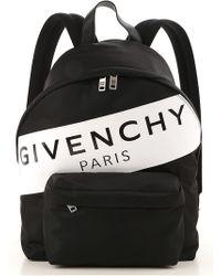 "Givenchy - Zaino "" Paris"" In Pelle - Lyst"