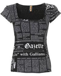 John Galliano Womens Underwear - Black
