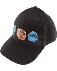 00c0d3831f2 Kenzo Logo Nylon Baseball Cap in Blue for Men - Lyst