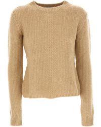 30e93380173a Lyst - Weekend By Maxmara Sweater For Women Jumper in Blue