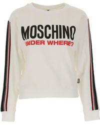 Moschino Sweatshirt für Damen - Mehrfarbig