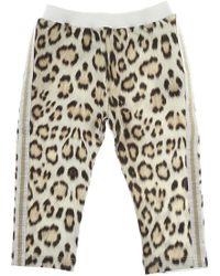 Roberto Cavalli - Baby Sweatpants For Girls - Lyst