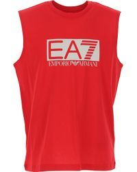 Emporio Armani - T-Shirts für Herren - Lyst