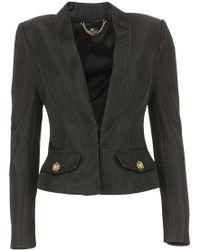 Elisabetta Franchi - Jacket For Women On Sale - Lyst