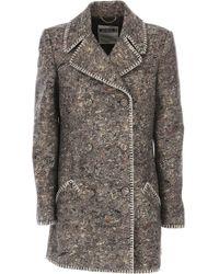 Moschino - Women\'s Coat On Sale - Lyst