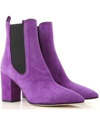 Paris Texas - Pointed Toe Ankle Boots - Lyst