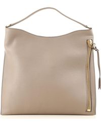 416690dcc0d9 Lyst - Tom Ford Alix Small Textured-leather Tote
