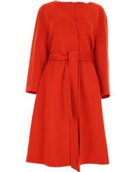 Tara Jarmon - Women\'s Coat On Sale - Lyst