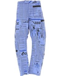 John Galliano - Pants For Men - Lyst