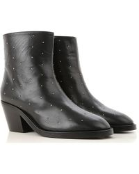 Twin Set - Embellished Ankle Boots - Lyst