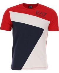 Emporio Armani - T-shirt Homme Pas cher en Soldes - Lyst