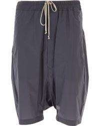 Rick Owens Pantaloncini Shorts Uomo In Outlet