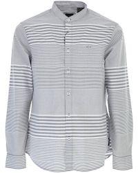 Emporio Armani - Camicia Uomo In Outlet - Lyst