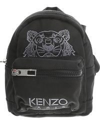 KENZO - Mini Tiger Canvas Backpack - Lyst