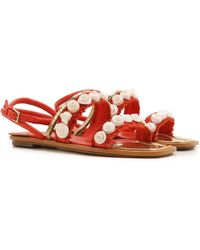 cf12e35075e686 Tory Burch - Sandals For Women On Sale In Outlet - Lyst