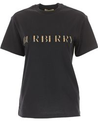 Burberry - T-Shirt Donna - Lyst