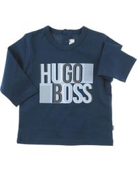 98d6fd2c6fc59 Lyst - Burberry Baby T-shirt For Boys in Black for Men