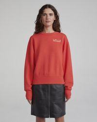 Rag & Bone - Hello Sweatshirt - Lyst