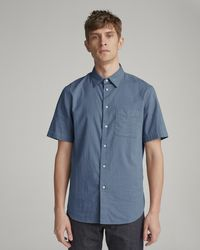Rag & Bone - Fit 3 Classic Short Sleeve Beach Shirt - Lyst