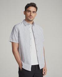 Rag & Bone - Fit 3 Short Sleeve Beach Shirt - Lyst