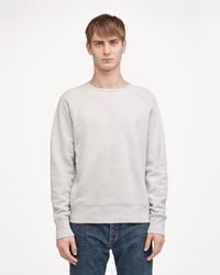 Rag & Bone - Standard Issue Crew Sweatshirt - Lyst