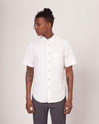 Rag & Bone - Standard Issue Short Sleeve Beach Shirt - Lyst