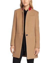 Rag & Bone - Emmet Crombie Wool-Blend Coat - Lyst