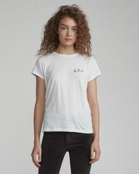 Rag & Bone - Be Kind Tee - Lyst