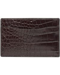 Ralph Lauren - Alligator Card Case - Lyst