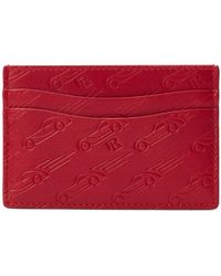 Ralph Lauren - Printed Leather Card Case - Lyst