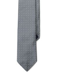 Polo Ralph Lauren - Dotted Silk Repp Narrow Tie - Lyst