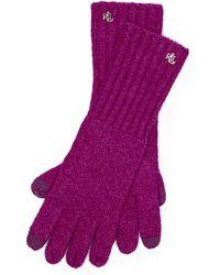 Ralph Lauren | Lrl Monogram Gloves | Lyst
