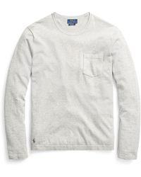 Polo Ralph Lauren - Cotton Crewneck Sweater - Lyst