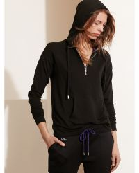 Pink Pony - French Terry Half-zip Hoodie - Lyst