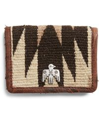 RRL - Wool-blend Card Wallet - Lyst