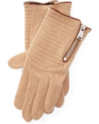 Pink Pony - Quilted Driving Gloves - Lyst