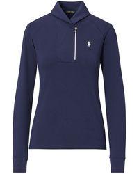 Ralph Lauren Golf - Shawl-collar Half-zip Pullover - Lyst