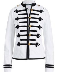 Ralph Lauren - Military Denim Jacket - Lyst