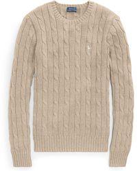 e5097943a200 Polo Ralph Lauren Ls Cn Po-long Sleeve-sweater - Lyst